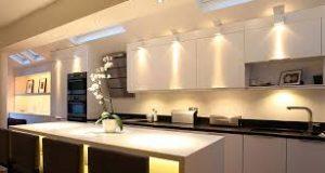 Какие выбрать мебельные светильники для кухни